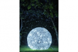FIL DE FER Outdoor IP65 LED, Bodenleuchte, D: 70 cm