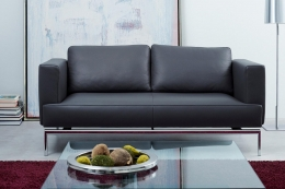 easy sofa mit sitztiefenverstellung von fsm. Black Bedroom Furniture Sets. Home Design Ideas