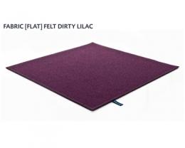 FABRIC (FLAT) FELT dirty lilac 8484