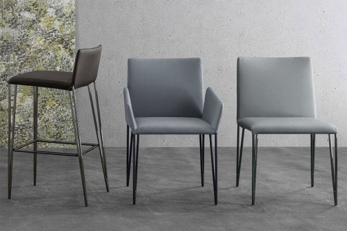 Filly designer stuhl von bonaldo design bartoli design for Design stuhl range
