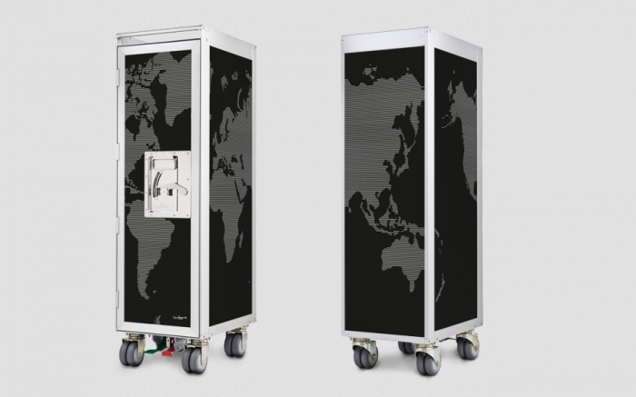 bordbar worldmap new flugzeugtrolley von bordbar. Black Bedroom Furniture Sets. Home Design Ideas