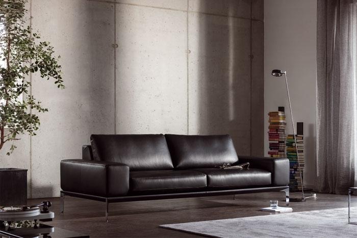 spirit armlehne breit sofa von bw bielefelder werkst tten design georg appeltshauser. Black Bedroom Furniture Sets. Home Design Ideas