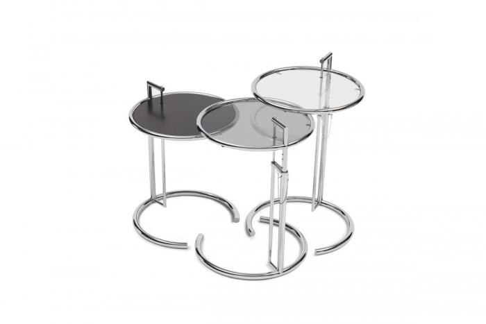 adjustable table e 1027 von eileen gray classicon ebay. Black Bedroom Furniture Sets. Home Design Ideas