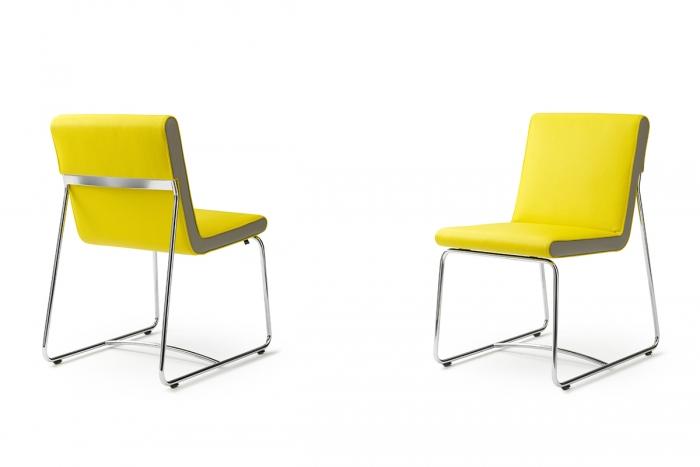 Spring stuhl von leolux design cuno frommherz for Design stuhl range