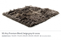 SG AIRY PREMIUM BLEND beige grey & cocoa 5559