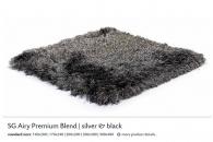 SG AIRY PREMIUM BLEND silver & black 5564