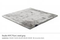 STUDIO NYC PURE steel grey 3941