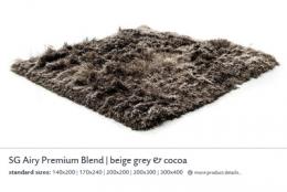 SG AIRY PREMIUM BLEND beige grey & cocoa 5559