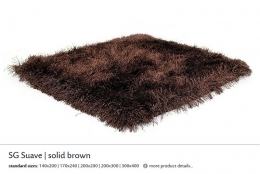 SG SUAVE solid brown 5405