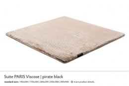 SUITE PARIS VISCOSE pirate black 3948