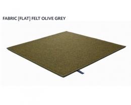 FABRIC (FLAT) FELT olive grey 8485
