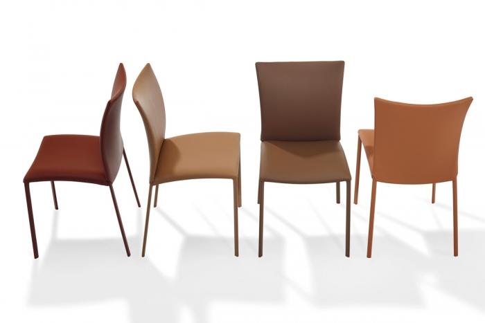 nobile soft 2076 stuhl von draenert design gino carollo 2009. Black Bedroom Furniture Sets. Home Design Ideas