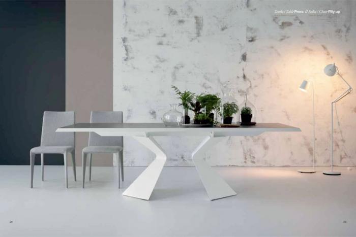 Prora b 300 cm esstisch von bonaldo design mauro lipparini for Esstisch 300 cm