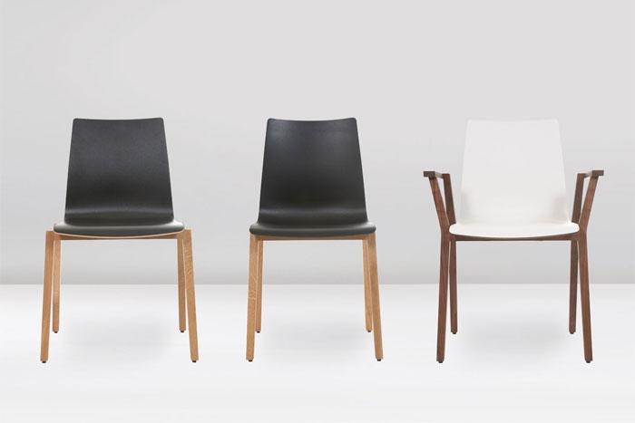 Alec home designer stuhl von kff design detlef fischer for Design stuhl range