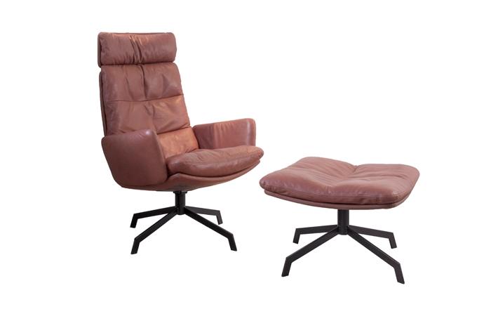 arva louinge designer sessel von kff design kff. Black Bedroom Furniture Sets. Home Design Ideas