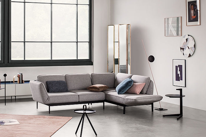 mera wohnlandschaft von rolf benz design beck design. Black Bedroom Furniture Sets. Home Design Ideas