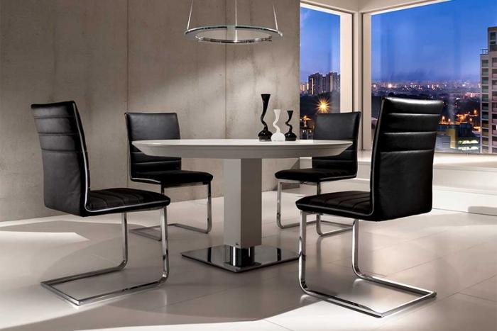 todo ausziehbarer esstisch von bacher die collection. Black Bedroom Furniture Sets. Home Design Ideas
