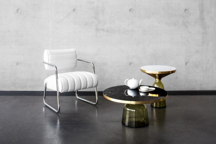 bonaparte sessel von classicon design eileen gray 1935. Black Bedroom Furniture Sets. Home Design Ideas