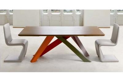 BIG TABLE Esstisch von BONALDO, Design Alain Gilles