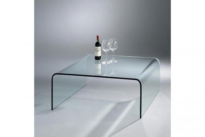 U tisch couchtisch von dreieck design design dreieck design for Glas salontisch