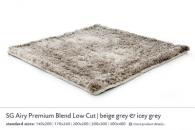 SG AIRY PREMIUM BLEND LOW CUT beige grey & icey grey 5455