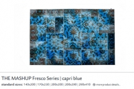 THE MASHUP FRESCO SERIES capri blue