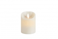 Flame LED - Echtwachs Kerze Classic 8x10 elfenbein