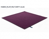 FABRIC (FLAT) FELT dirty lilac 8484